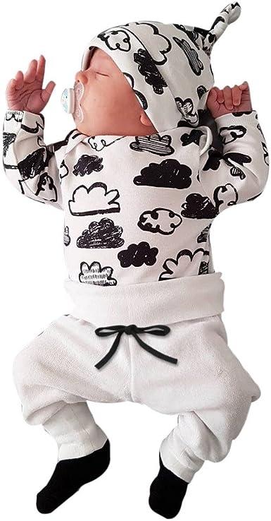 FRYS Ensemble Bebe Garcon Hiver Vetement b/éb/é gar/çon Naissance Printemps Pas Cher Manteau gar/çon Pyjama Manche Longue Chemise Blouse Mode Haut Top Sweat t Shirt Pantalons