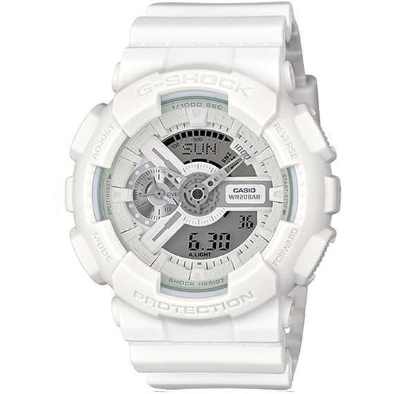 fd15c4939143 Casio Reloj de cuarzo G-Shock Blanco 51 mm  Amazon.es  Relojes