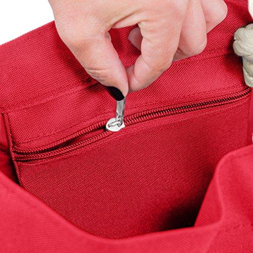 disponibles Rouge couleurs beacht Sac de plage XL cendres plusieurs 8C0wgqY