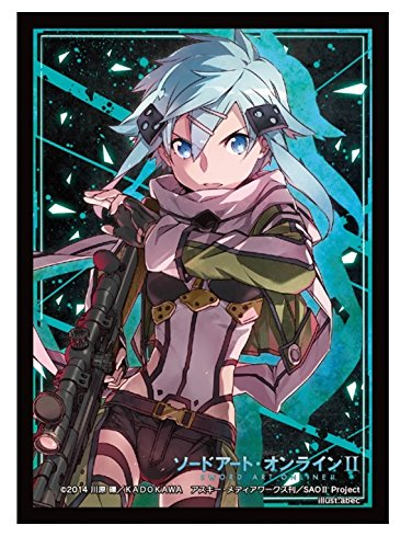 Sword Art Online II Sinon Card Game Character Sleeves Collection HG Vol808 SAO 2