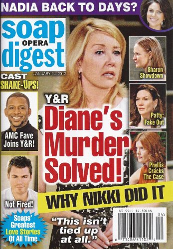 - YOUNG AND THE RESTLESS Melody Thomas Scott Jeff Branson Darnell Williams Lauren Koslow The 20 Most Memorable Duos in Soap History - January 24 2012 Soap Opera Digest Magazine