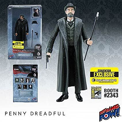Convention Exclusive Penny Dreadful Sir Malcolm 6-Inch Action Figure