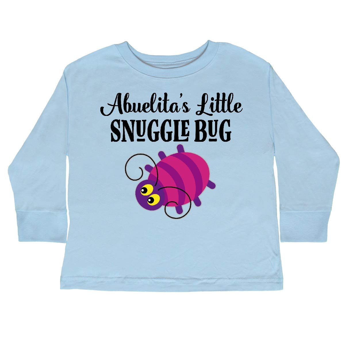 inktastic Abuelita Little Snuggle Bug Toddler Long Sleeve T-Shirt