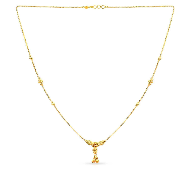 Malabar Gold & Diamonds 22KT Yellow Gold necklace for Women