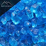 Blue Ridge Brand trade; Light Blue Fire Glass – 20-Pound Professional Grade Fire Pit Glass – 1/2″ Glass Rocks for Fire Pit and Landscaping Review