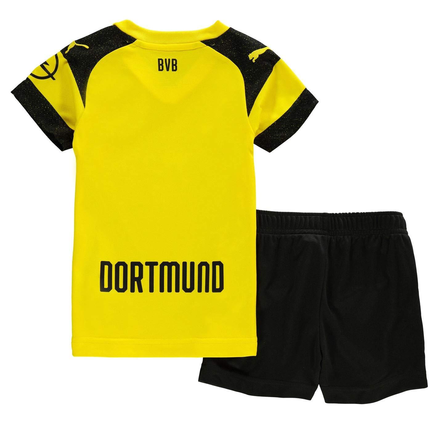 Amazon.com : PUMA 2018-2019 Borussia Dortmund Home Little ...