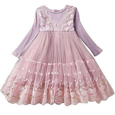 ZhuiKunA Vestido de Fiesta de Princesa Boda de Tul Regalo de ...