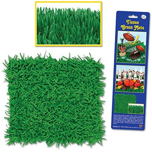Pkgd Tissue Grass Mats 15in. x 30in., 2/Pkg, -