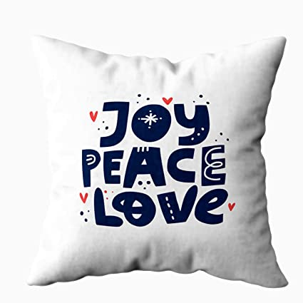 Astounding Capsceoll Bed Pillow Covers Joy Peace Love Positive Slogan Lettered Quote Scandinavian Style Sofa Throw Pillows Case Covers Home Decoration Pillow Dailytribune Chair Design For Home Dailytribuneorg