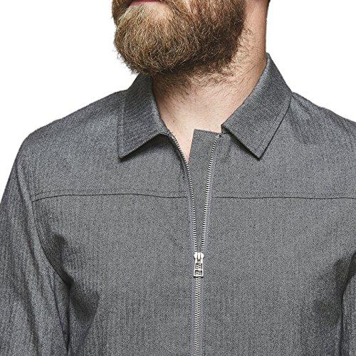 Uomo Suit Giacca Grigio grey Melange 5010 wqRC8B14n