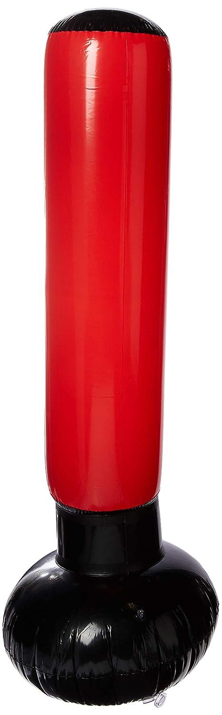 Erwachsene Rot Einheitsgr/ö/ße Unisex aufblasbar InnovaGoods IG116264 Boxsack