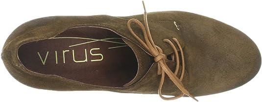 Virus Moda 930342 930342 - Zapatos clásicos de Cuero para Mujer, Color marrón, Talla 41: Amazon.es: Zapatos y complementos