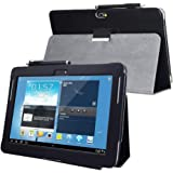 for Samsung Galaxy Note 10.1 (2012 Edition) GT N8013 N8000 Flip case Cover - SCH-I925 Folio Stand Back Book Cover for GT…