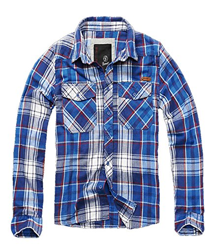 BRANDIT Check Shirt (4XL, Blau)
