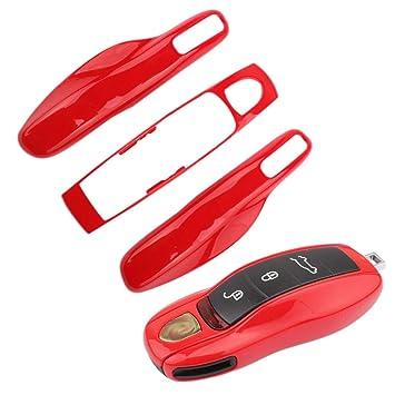TOMALL Reemplazo de la cubierta central + Cubierta lateral Cubierta de la carcasa adecuada para Porsche Cayenne Panamera Macan Cayman 911 918 996 997 ...