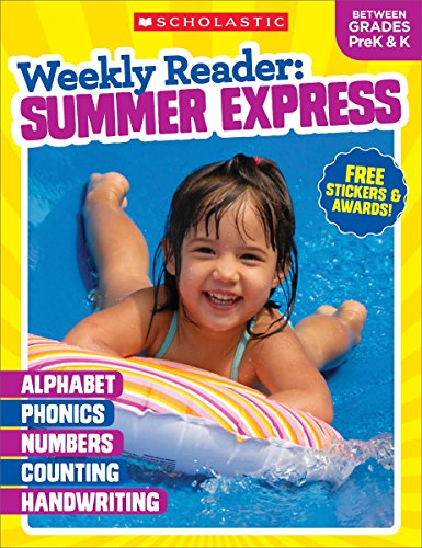 Weekly Reader: Summer Express (Between Grades PreK & K) Workbook cover