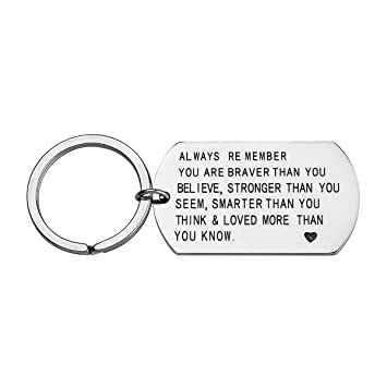 Amazon Stainless Steel Always Remember You Are Braver Stronger