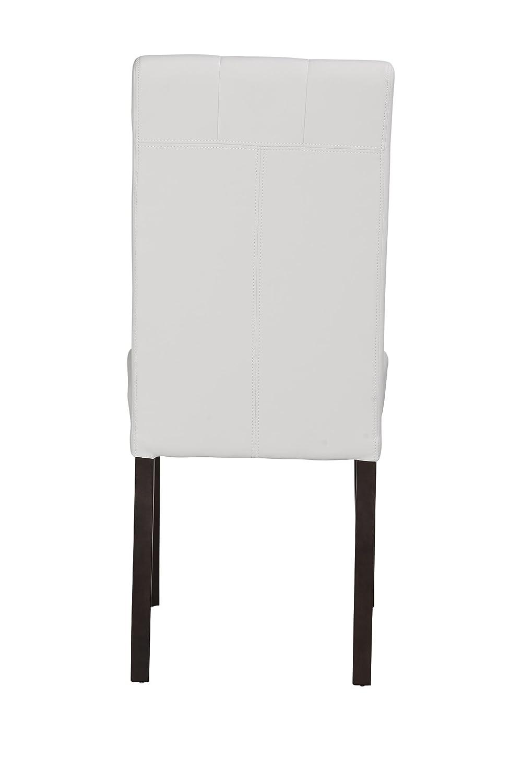 White Boraam 82218 Lyon Parson Dining Chair