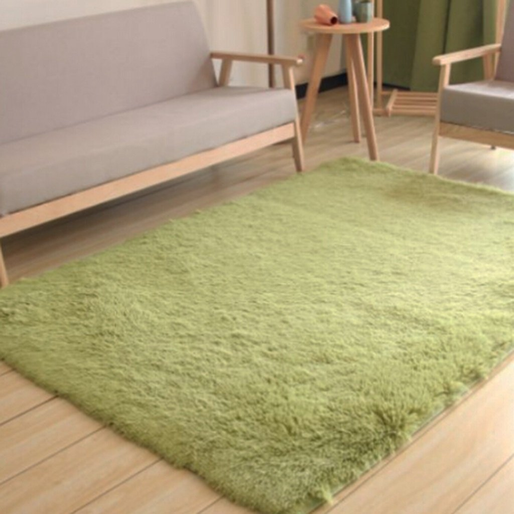 Teppich Wohnzimmer Vlies Modern Schlafzimmer Couchtisch Sofa Zimmer Nachttisch Heimteppich Pastoralen Stil (Farbe : G , Größe : 80  180cm)