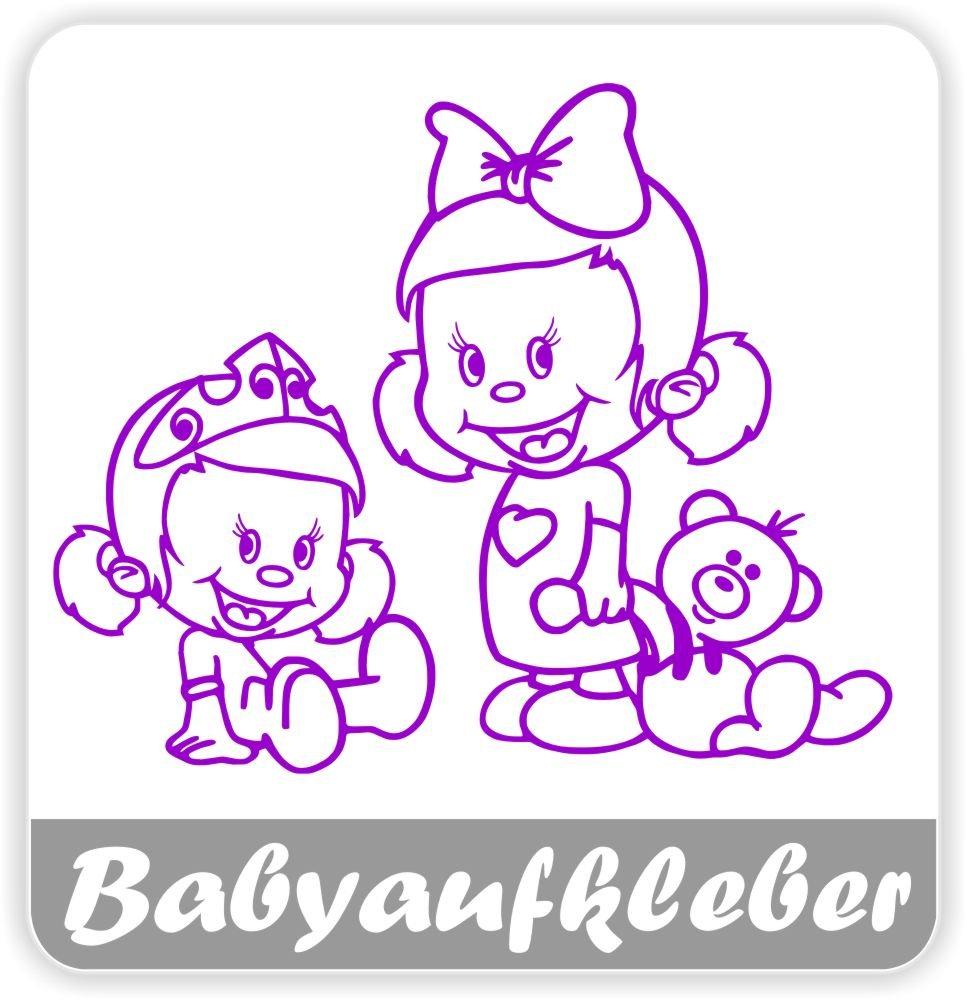 Babyaufkleber Geschwisteraufkleber Für Auto Mit Wunschtext Gs 13 Baby