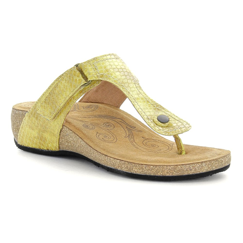 Yellow Taos Women's Lucy Wedge Sandal