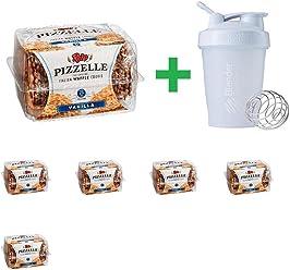 Reko Italian Style Vanilla Pizzelle Cookies, 5.25 oz (6 PCS) + Assorted Sundesa