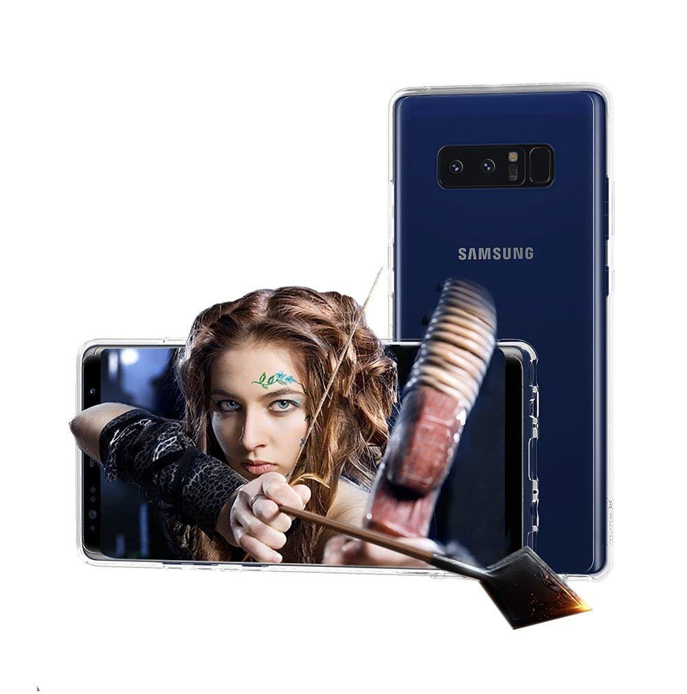 GVBGEAR Snap 3D Viewing Screen Protective Case Android Samsung Galaxy Models   Watch 3D Without 3D Glasses   3D Personal Viewer   Crystal MOPIC (Samsung Note 8)