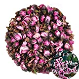 TooGet Natural Peach Flowers Organic Dried Peaches Flower for Tea, Herbal, Floral DIY Craft Wholesale, Top Grade - 4 oz