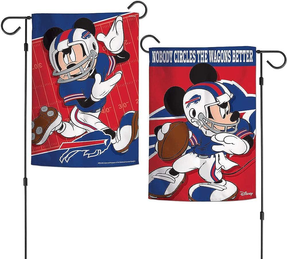 NFL Buffalo Bills Flag12x18 Garden Style 2 Sided Flag, Team Colors, One Size