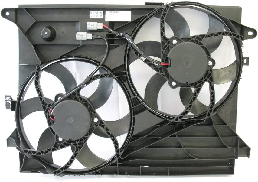 Tong Yang FAN-CV66132A Replacement Radiator/Condenser Cooling Fan Assembly 12- CV CAPTIVA SPORT 12- V6/3.0/ SATURN VUE 08-2.4/3.5/3.6L 3.0L/2.4/3.5/3.6L(FAN-CV66132A)