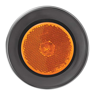 "GG Grand General 76425 Amber/Amber Marker Light (2.5"" 1 LED with Grommet and Pigtail): Automotive"