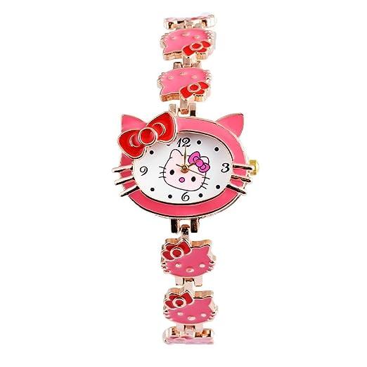 Relojes para niñas, relojes para niños, bonitos relojes para niños, pulsera de dibujos