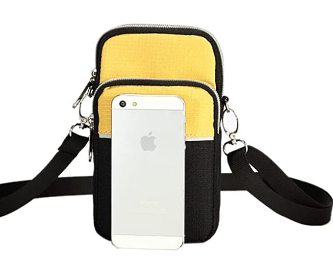 Amazon.com   Mini Outdoor Satchel Bag Single Shoulder Bag for Purse  Cellphone Key Certificate Waist Bag (Black)   Sports   Outdoors 6fddb8286849a
