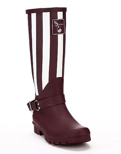 Ladies Evercreatures Art Deco Style New York Themed Knee High Tall ...