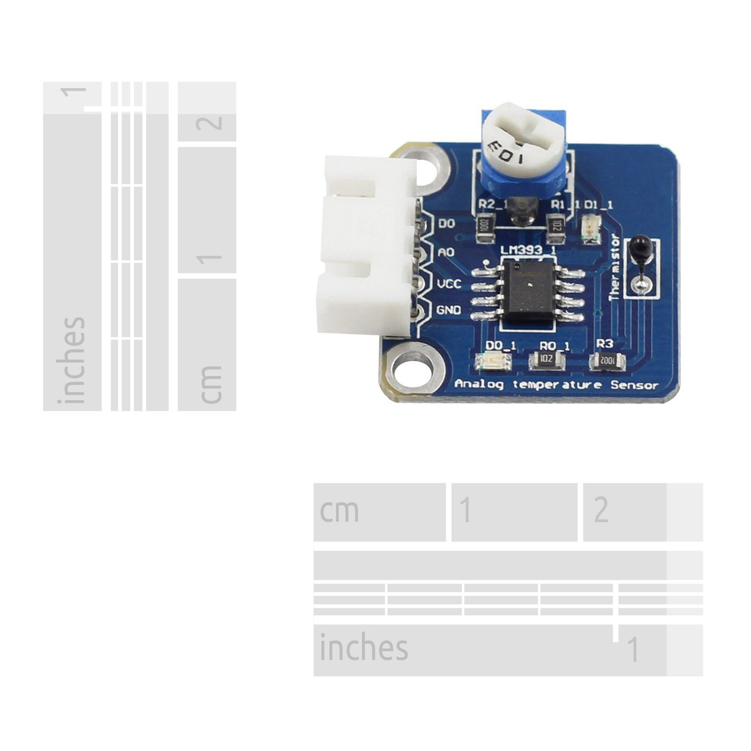 Sunfounder Analog Temperature Sensor Module For Arduino And Alarm With Op Amp Comparator Raspberry Pi Industrial Scientific