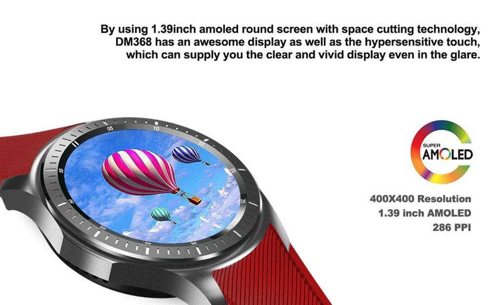 DOMINO DM368 3G Smartwatch Android Quad-Core CPU 1 IMEI ...