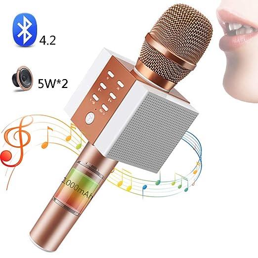 SHENGY Micrófono inalámbrico para niños, Regalos de ...