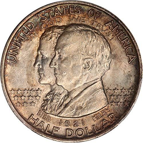 1921 P Silver Commemoratives Alabama Half Dollar MS66 PCGS