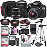 Photo : Canon EOS Rebel T6 DSLR Camera with EF-S 18-55mm f/3.5-5.6 IS II Lens, EF 75-300mm f/4-5.6 III Lens, 64GB, along with Fibertique Cleaning Cloth, and Xpix cleaning Kit and Deluxe Accessory Bundle