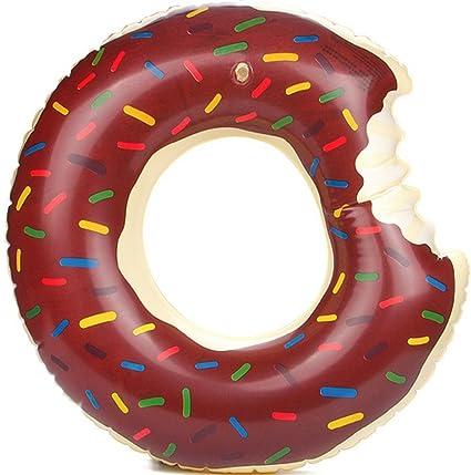 Panlom® Donut - Anillo hinchable para piscina, piscina, piscina, flotadores, juguetes
