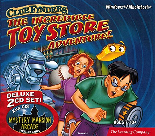 (The Learning Company - ClueFinders The Incredible Toy Store Adventure Deluxe (2 CD-ROM Set))