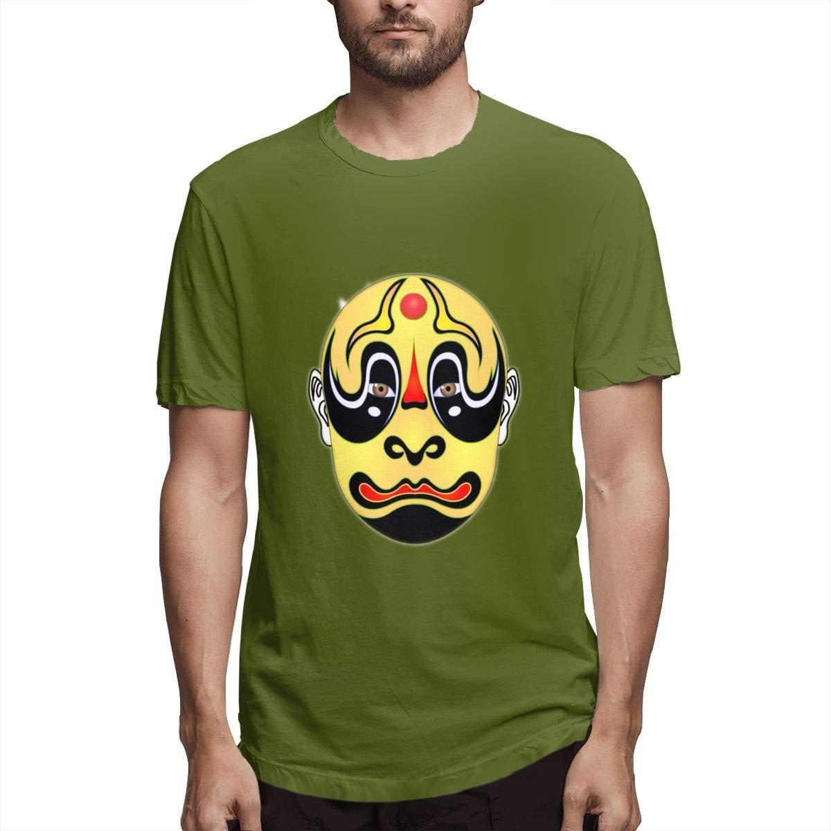 LONGTENG Design Halloween Horror Ghost Fashion Shirt O-Neck Pure Cotton for Boys Black