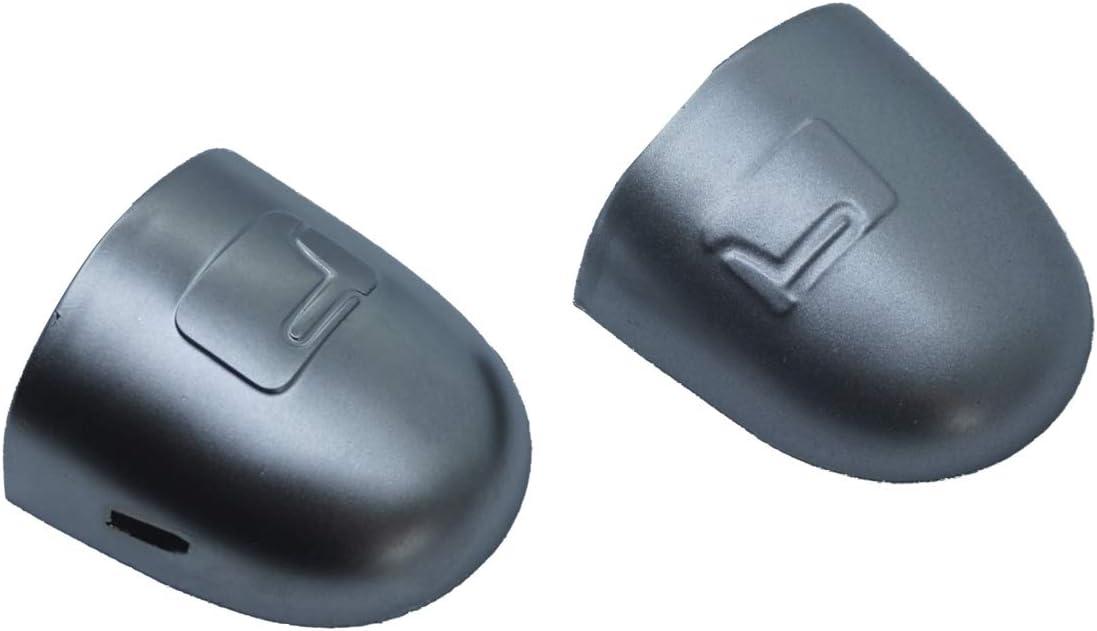 2 unidades color plateado para R.e.n.a.u.l.t Megane Scenic Clio Laguna Twingo Modus Espace Vel Satis Tap/ón para manilla de puerta izquierda y derecha EDP576-1 8200036411