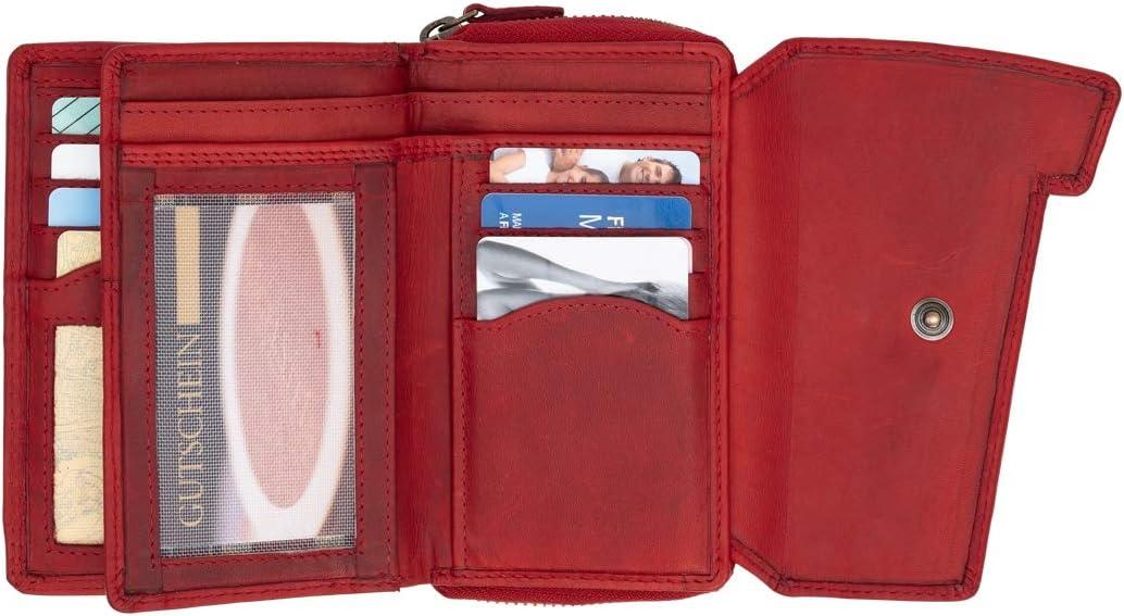Hill Burry Echtleder XxL Portemonnaie Edle Unisex Brieftasche Im Vintage Look Weiches Leder Und ...