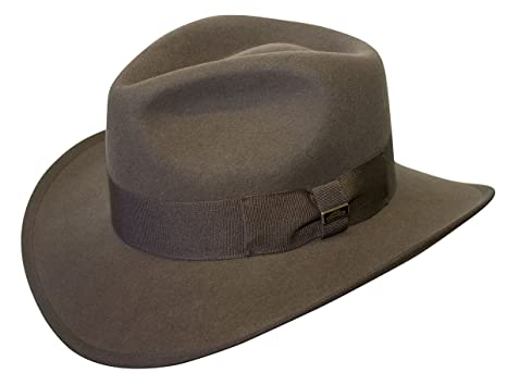 c9beed823b Conner Hats Men's Indy Crushable Wool Hat