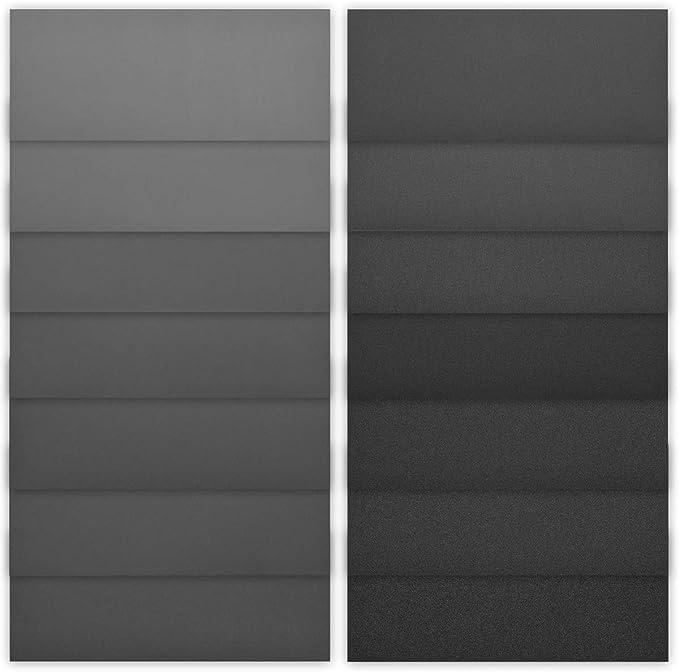 Navaris Set de 84 papeles de lija - Para lijado en seco y húmedo - Lijas impermeables de granos del 120 a 3000 - Para casa y coche - 93 x 230MM