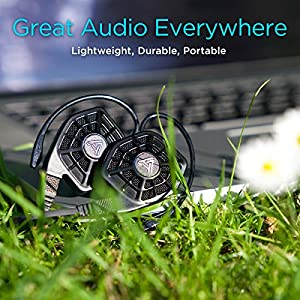Audeze iSINE10 in-Ear | Semi-Open Headphone | Cipher & Standard/3.5mm Cable