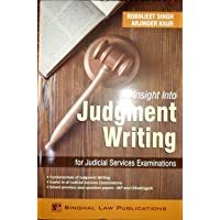 An Insight into Judgment Writing for Judicial Services Examinations
