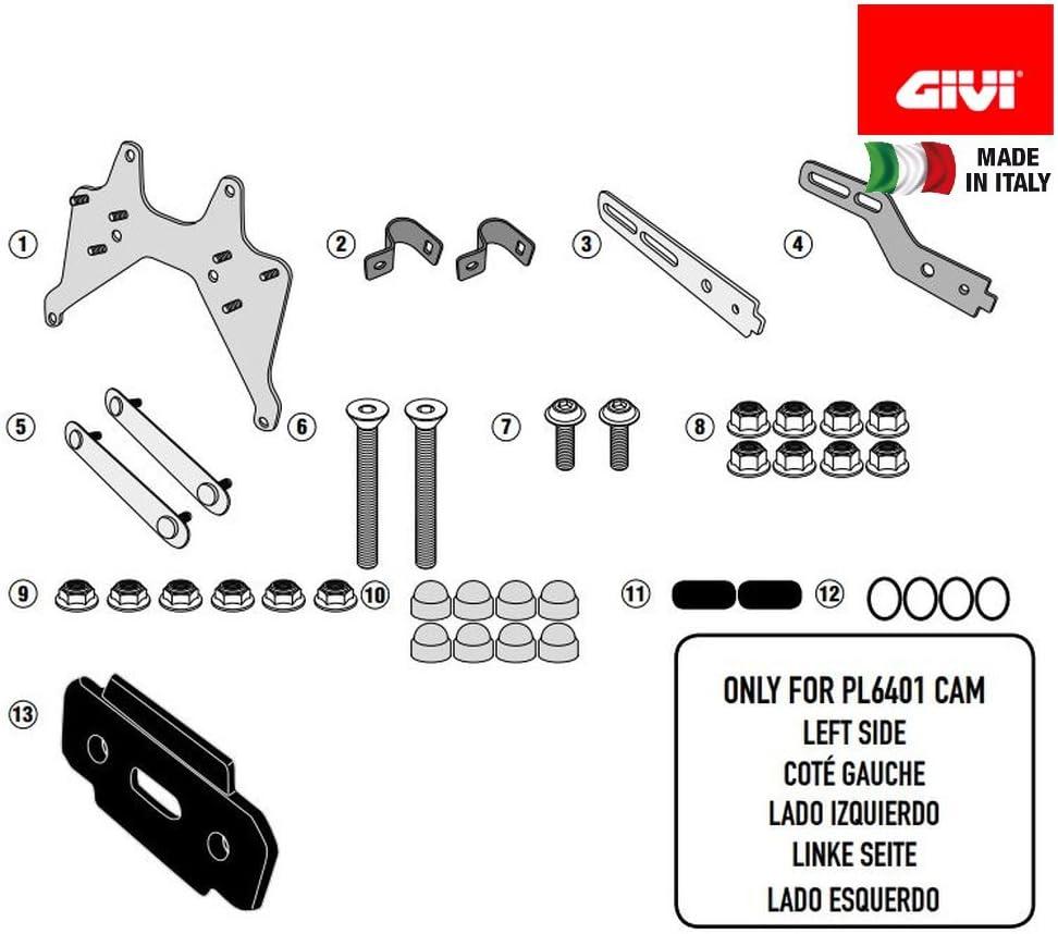 Givi TL6401KIT Tool Box Fit Kit
