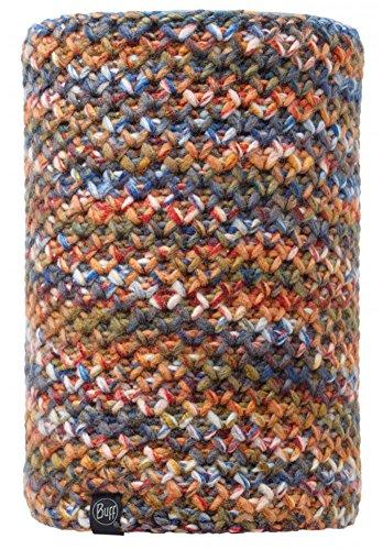 Buff Unisex Outdoor Knitted And Polar Fleece Neckwarmer, Margo Orange, OS